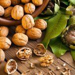 Горсть грецких орехов в день уменьшает риск развития диабета!